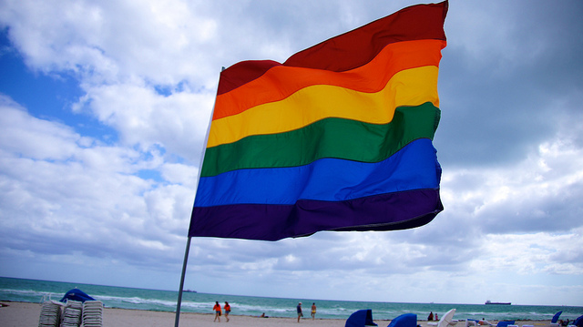 LGBT Pride flag photo credit: Ted Eytan cc